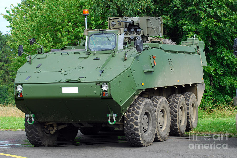 Armament Photograph - The Piranha IIic Of The Belgian Army by Luc De Jaeger