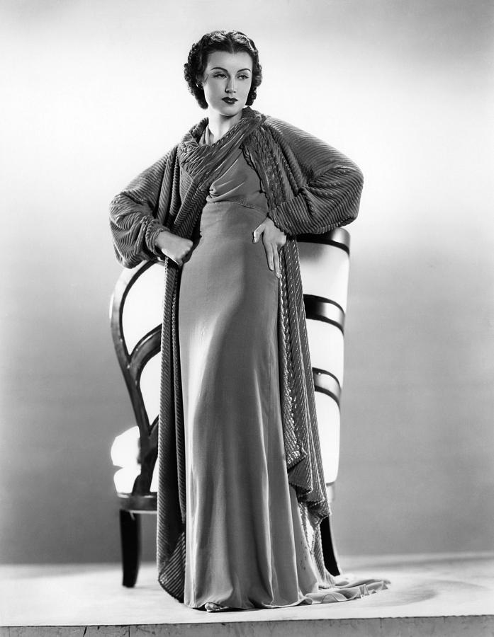 1930s Fashion Photograph - The Richest Girl In The World, Fay by Everett