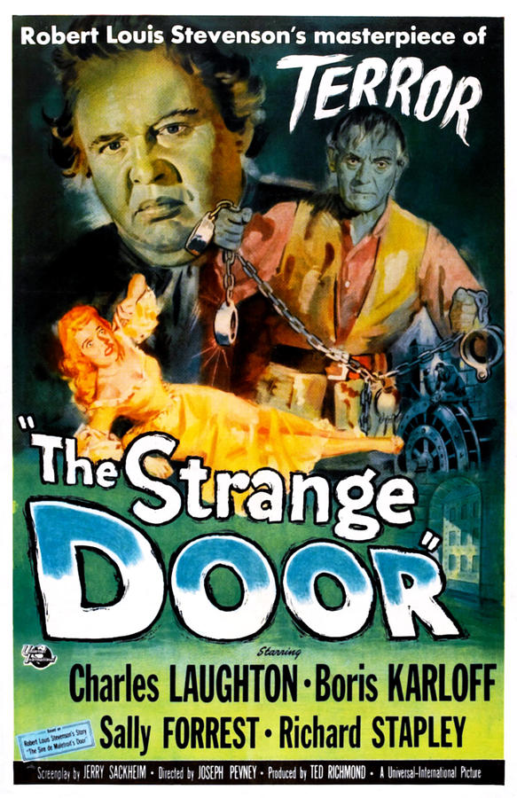 1951 Movies Photograph - The Strange Door, Charles Laughton by Everett