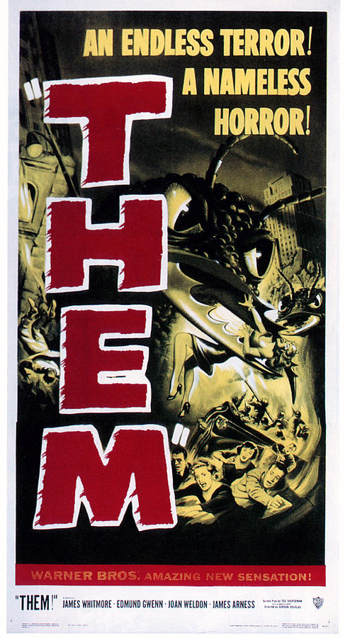 1954 Movies Photograph - Them, 1954 by Everett