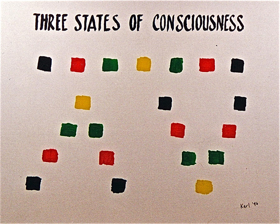 Three States Of Consciousness by Karl Hosch