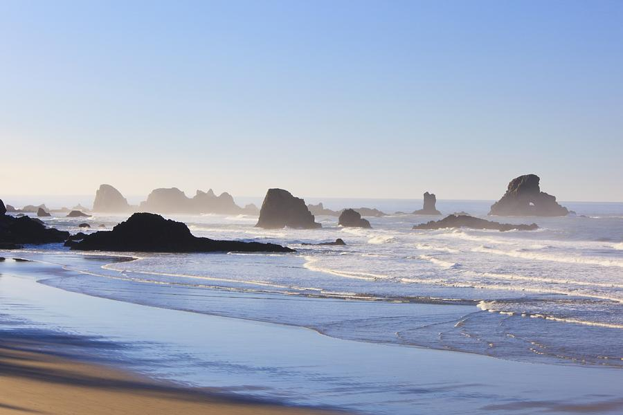 Tide At Indian Beach Oregon United Photograph By Craig Tuttle