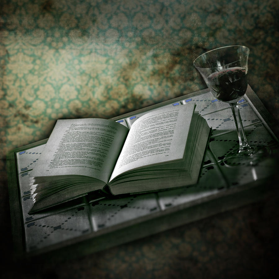 Glass Photograph - Time To Read by Joana Kruse