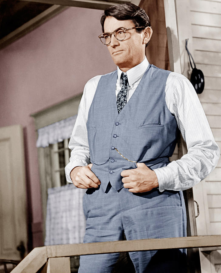 1960s Portraits Photograph - To Kill A Mockingbird, Gregory Peck by Everett