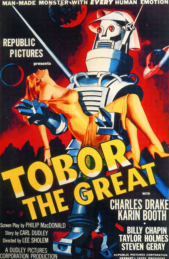 1950s Photograph - Tobor The Great, 1954 by Everett