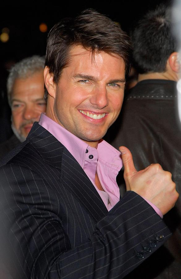 Premiere Photograph - Tom Cruise At Arrivals For Mission by Everett