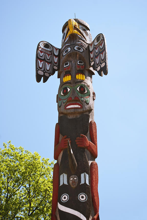 a reading report on wakiash and the first totem pole
