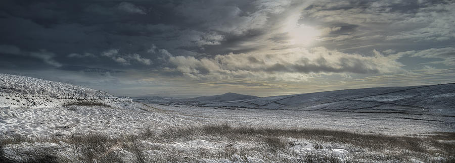 Landscape Photograph - Towards Gradbach by Andy Astbury