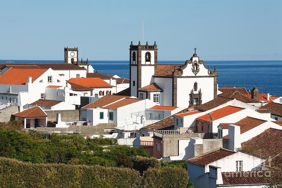 Architecture Photograph - Town By The Sea by Gaspar Avila