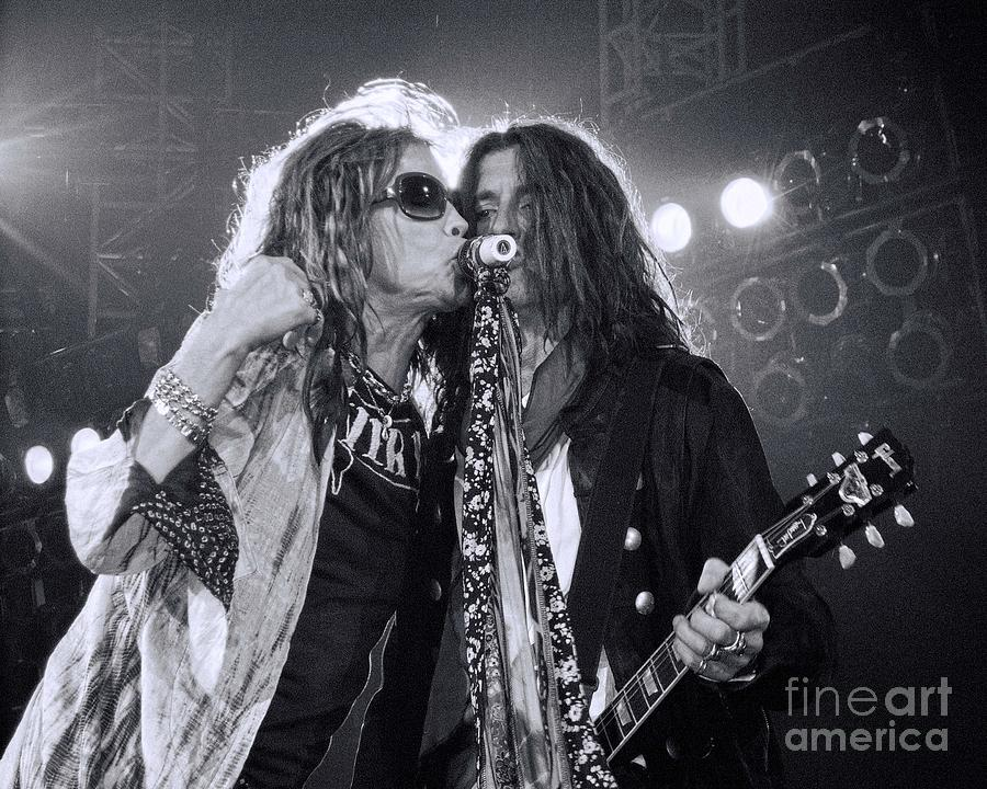 Joe Perry Photograph - Toxic Twins  by Traci Cottingham