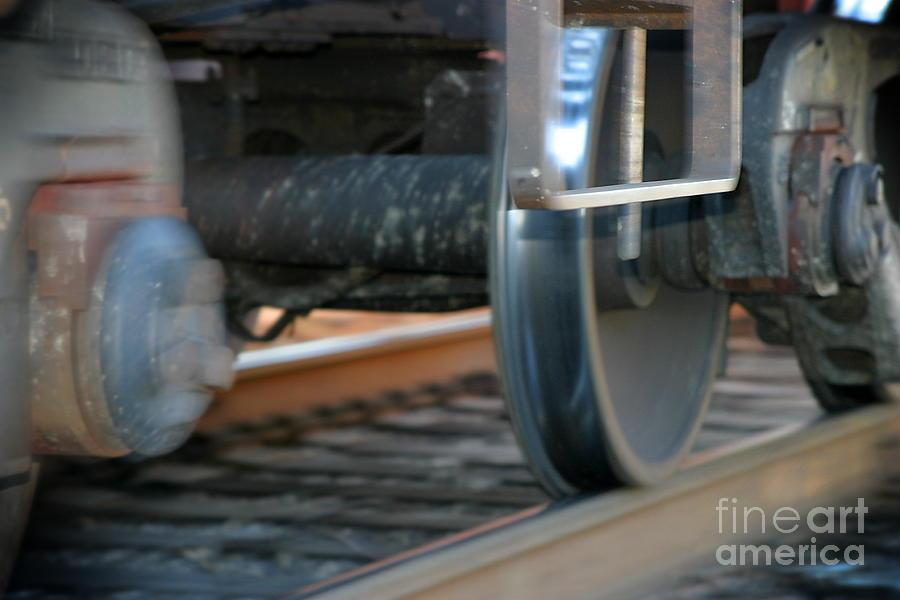 Tire Photograph - Train Tires by Henrik Lehnerer