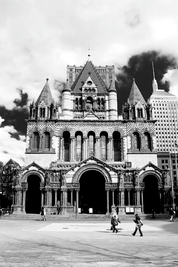 Boston Photograph - Trinity by Greg Fortier
