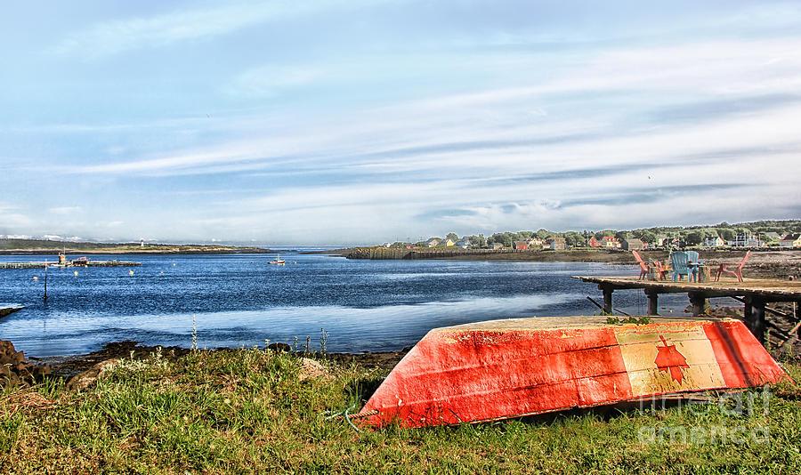 Landscape Photograph - Truly Canadian by Nancy Dempsey