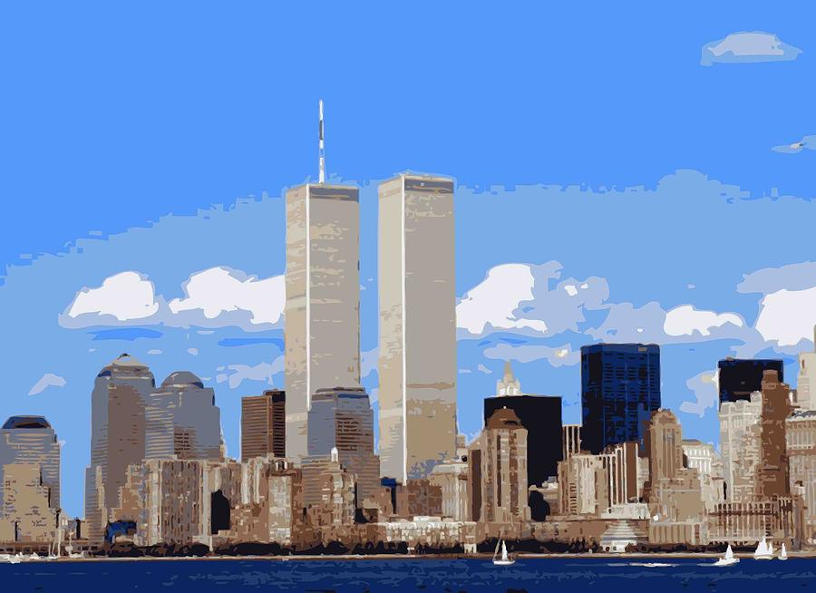Twin Towers Photograph - Twin Towers Color 16 by Scott Kelley
