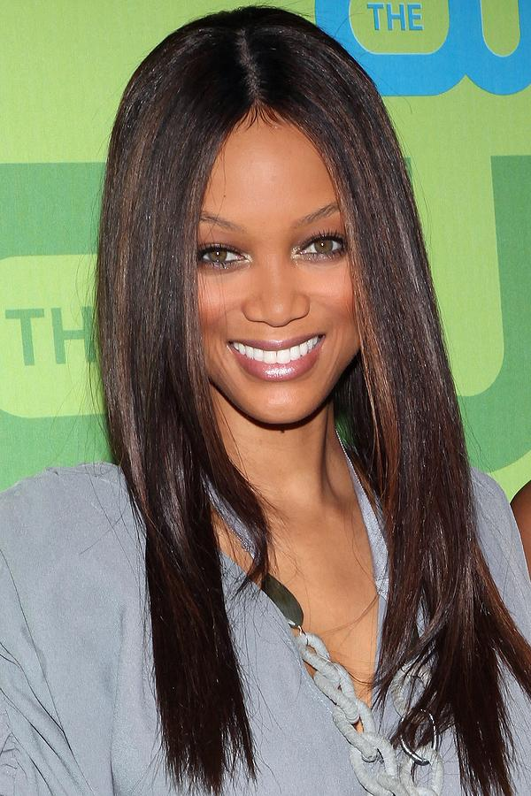 Tyra Banks Photograph - Tyra Banks At Arrivals For The Cw by Everett