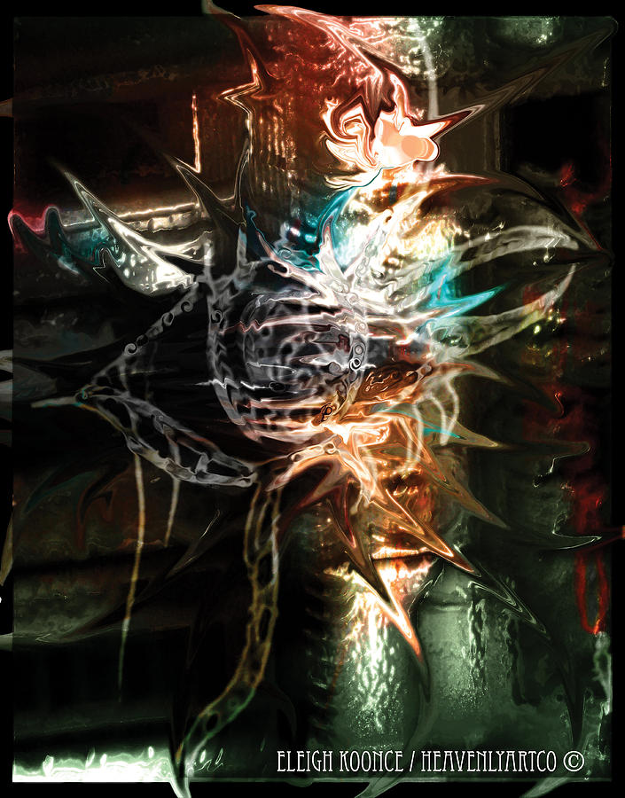 Grunge Mixed Media - Underground Sight by Eleigh Koonce