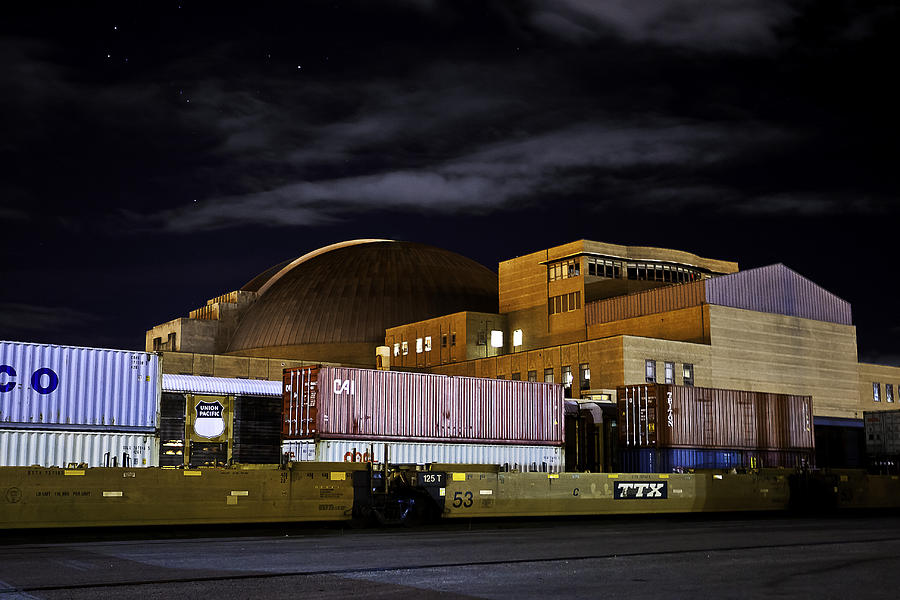 Cincinnati Photograph - Union Terminal by Keith Allen