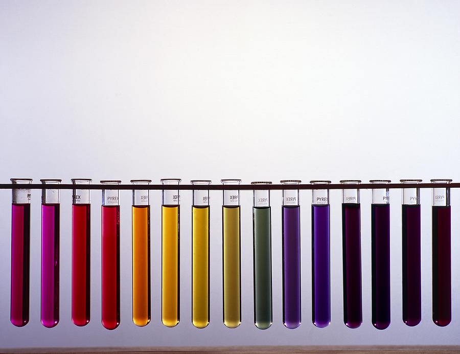 Universal Indicator Scale Photograph By Andrew Lambert Photography