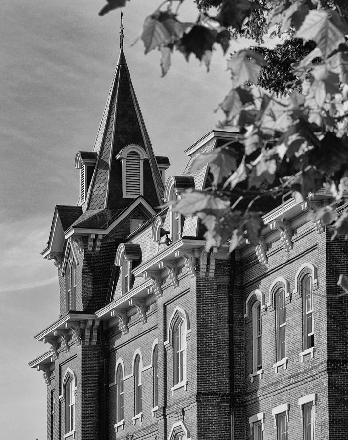 Purdue Photograph - University Hall by Coby Cooper