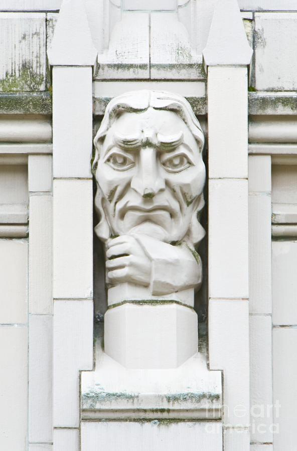 Architectural Photograph - University Of Washington Exterior Artwork by Rob Tilley