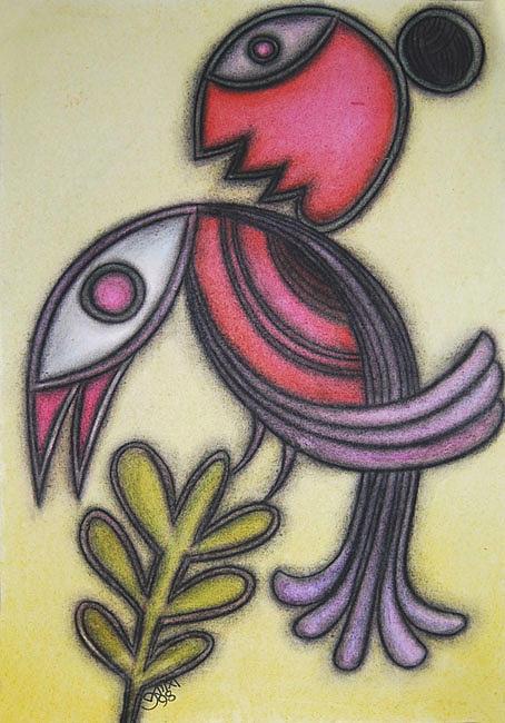Drawings Painting - Untitled by Prakash Karmakar
