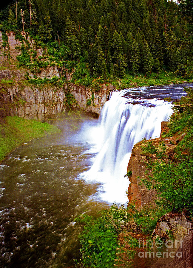 Upper Mesa Falls Warm River  Idaho Photograph