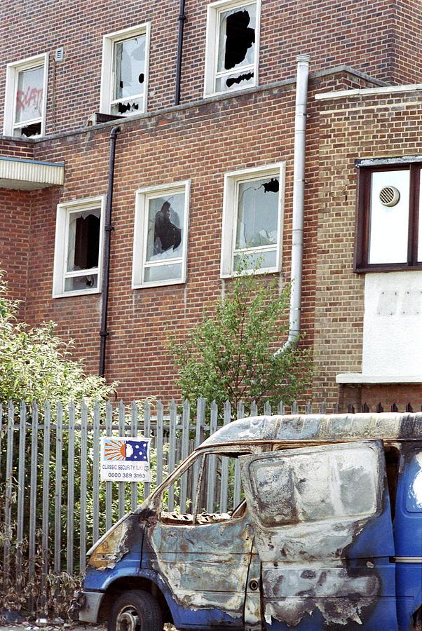 Van Photograph - Urban Decay by Victor De Schwanberg