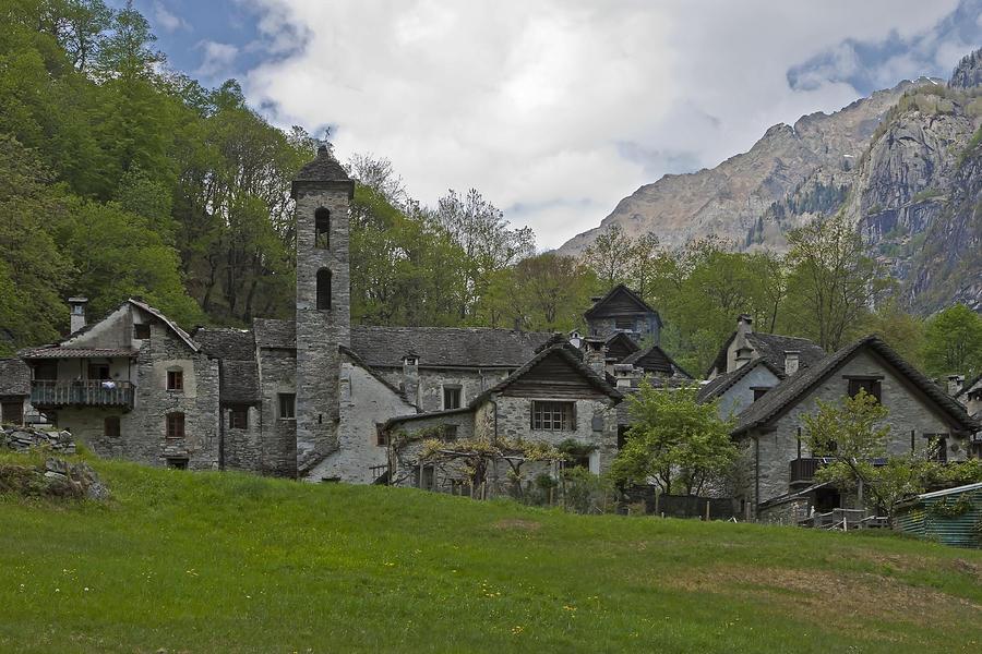 Alpine Photograph - Valle Bavona - Ticino by Joana Kruse