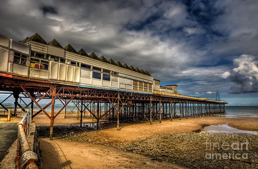 Architecture Photograph - Victoria Pier by Adrian Evans