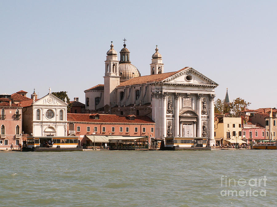 Italy Photograph - View On Venice by Evgeny Pisarev