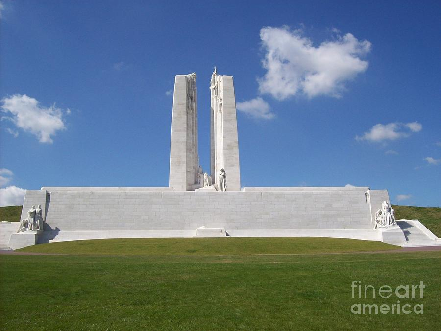 Vimy Ridge Photograph - Vimy Ridge 1 1 by Mary Mikawoz