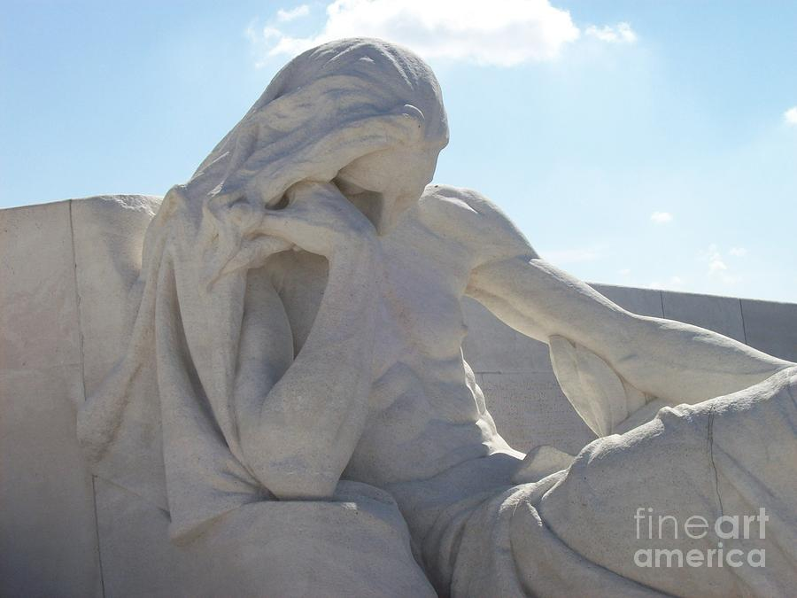 Vimy Ridge Photograph - Vimy Ridge 3 1 by Mary Mikawoz
