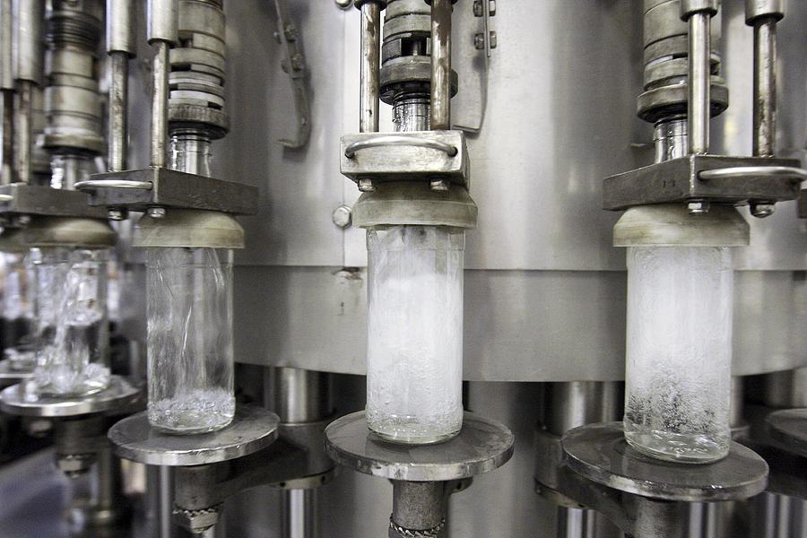 Equipment Photograph - Vodka Factory, Russia by Ria Novosti