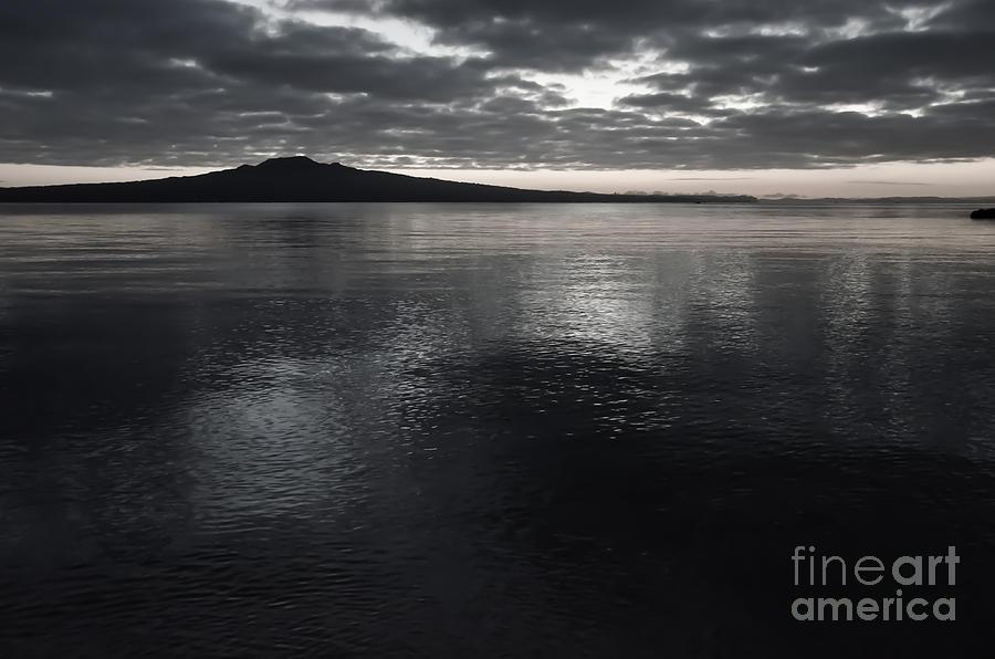 Sunrise Photograph - Volcano Just Before Sunrise by Yurix Sardinelly