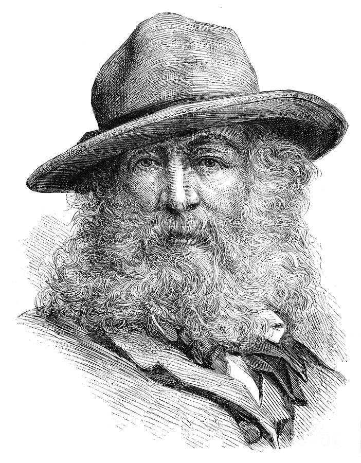 1876 Photograph - Walt Whitman (1819-1892) by Granger
