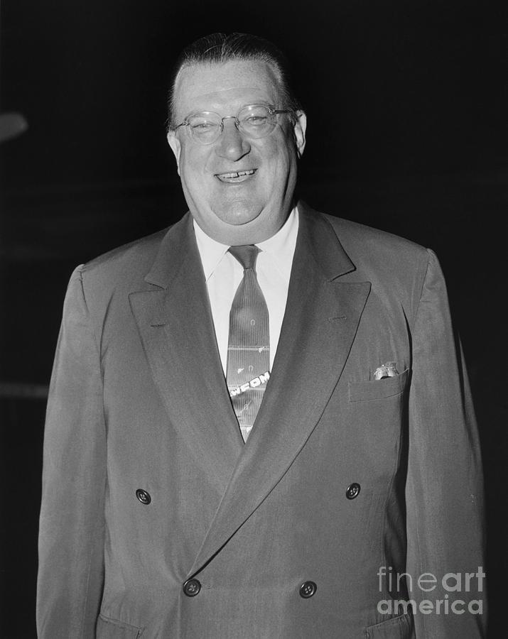 1955 Photograph - Walter Omalley (1903-1979) by Granger