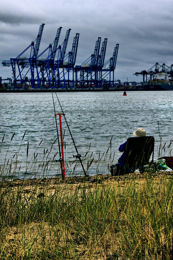 Dock Photograph - Watching The World Go By by Darren Burroughs
