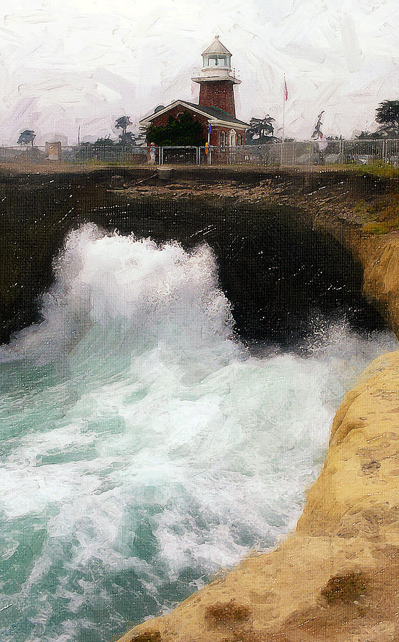 Wave Power Photograph - Wave Power by Ron Regalado
