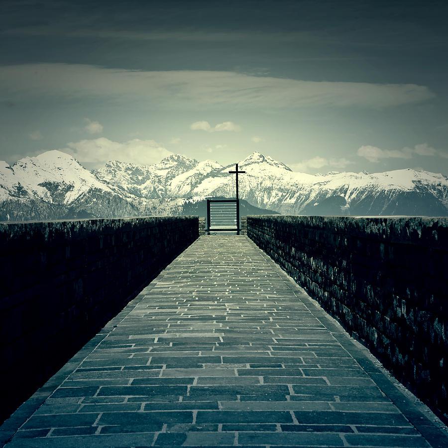 Bridge Photograph - Way To Heaven by Joana Kruse
