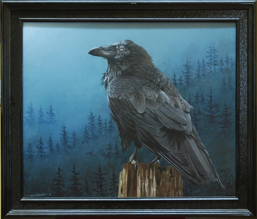 Bird Painting - Welcome To Nightmare by Harry Nurdianto
