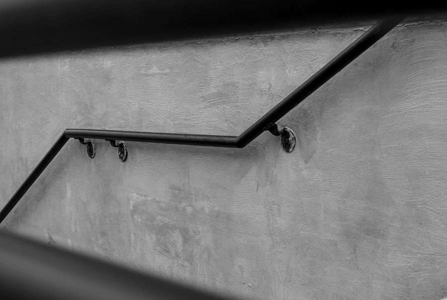 Railing Photograph - Where It Goes-3 by Fran Riley