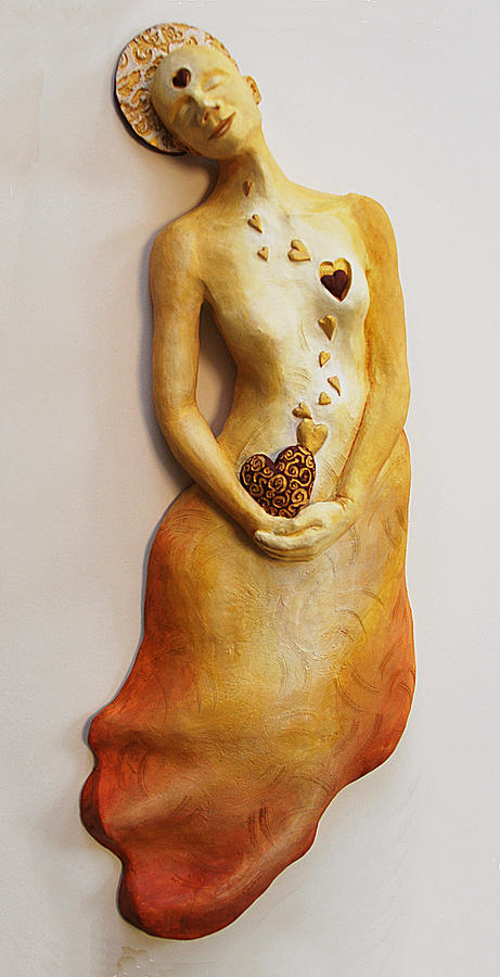 Sculpture Sculpture - Where Love Resides by Janet Knocke