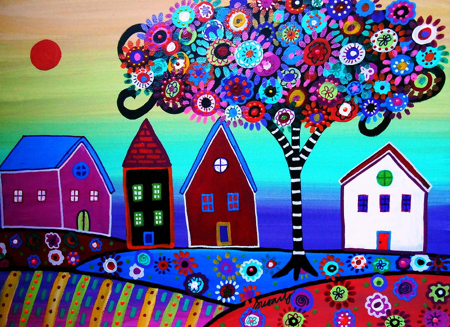 Whimsical Canvas Paintings