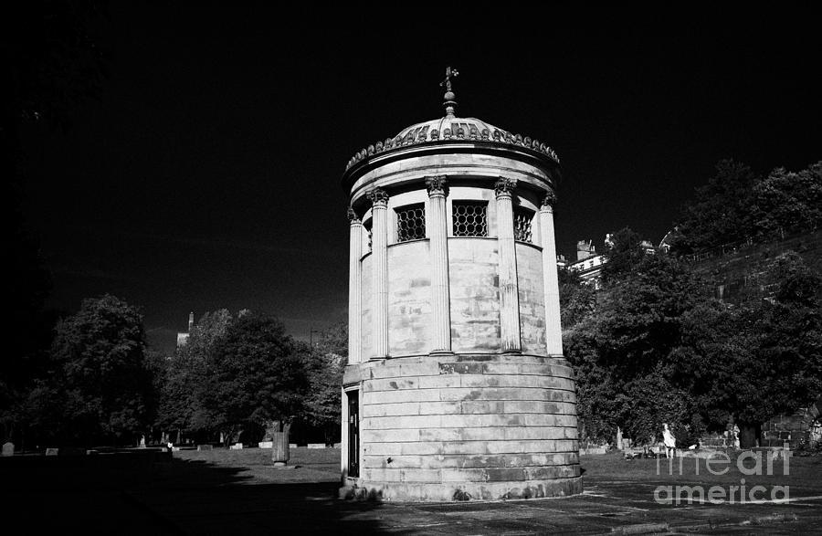 William Photograph - William Huskisson Memorial In St James Cemetery Liverpool Merseyside England Uk  by Joe Fox