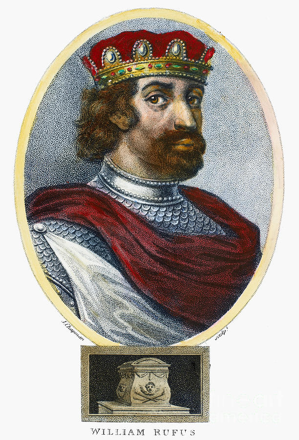 11th Century Photograph - William II (1056-1100) by Granger
