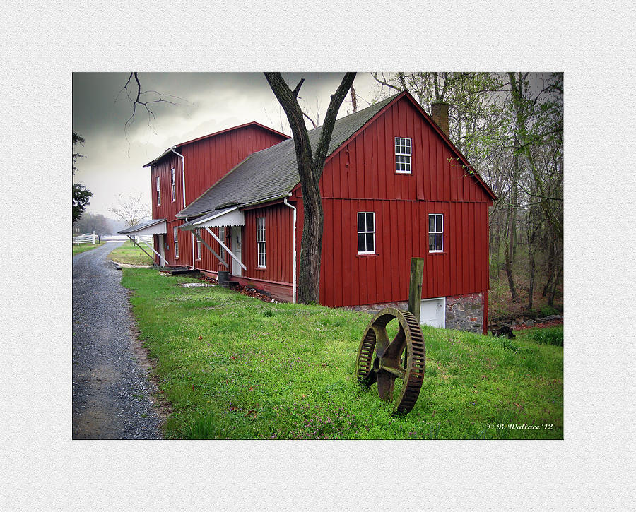 2d Photograph - Williston Mill by Brian Wallace
