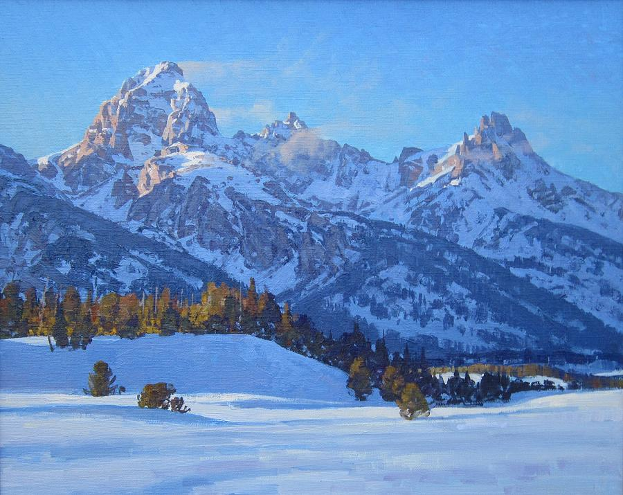 Landscape Painting - Windy Point by Lanny Grant