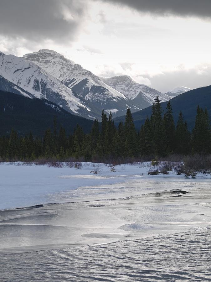 Banff National Park Photograph - Winter Landscape, Banff National Park by Keith Levit