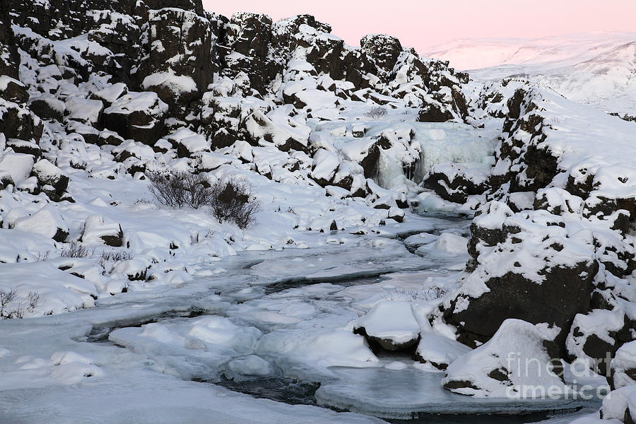 Iceland Photograph - Winter by Milena Boeva