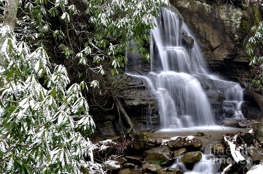 Inside Waterfall Decor